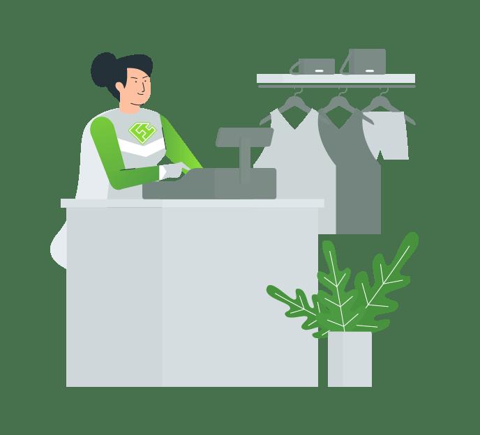 Retail banen | FlexHero.